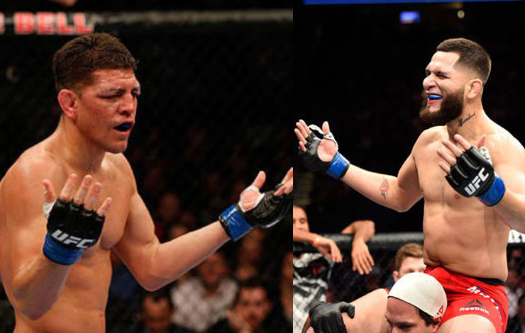 Nick Diaz Set to Fight Jorge Masvidal – Masvidal a Betting Favorite over Diaz