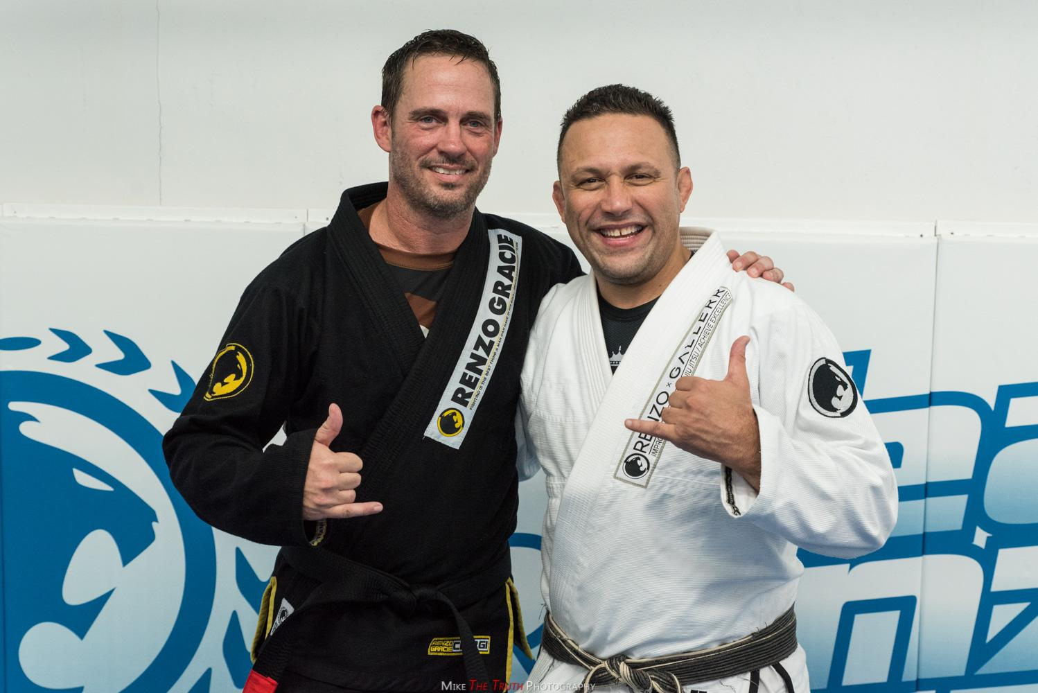 UFC Matchmaker Mick Maynard receives black belt from Renzo Gracie After 15 Years