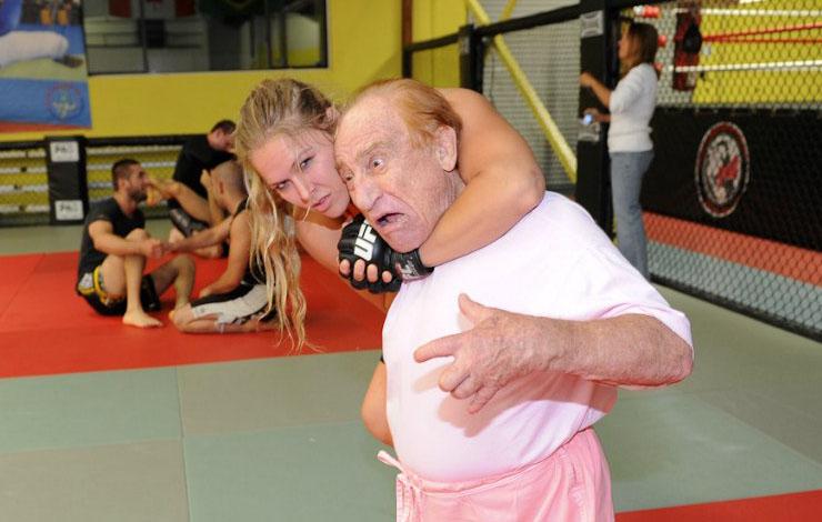 'Judo' Gene LeBell retires from MMA judging following Liddell vs. Ortiz 3