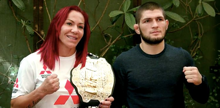 Khabib Gives Advice to Female Fighters – Just Stay Home