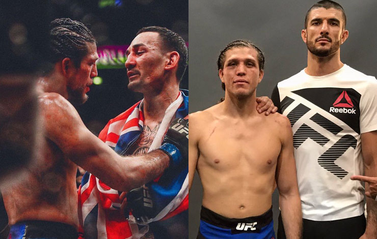 First Thing Brian Ortega Did Following Loss Was Apologize To Everyone