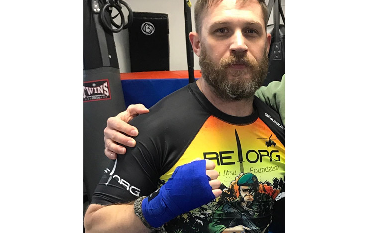 Actor Tom Hardy Takes Up Personal BJJ Cause –  Head Ambassador of REORG Jiu-Jitsu Foundation