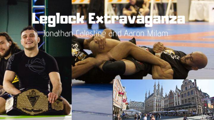 Leglock Camp w/ Jon Calestine & Aaron Milam in Leuven, Belgium