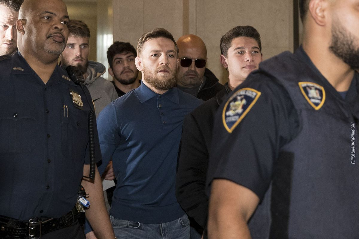 Conor McGregor Surrenders To Police To Be Questioned on Recent Assault