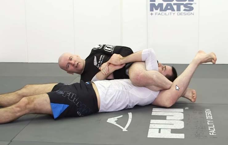 John Danaher Shows Side Triangle While Guard Passing