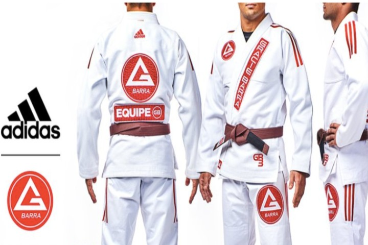 Gracie Barra Announces Partnership with Sporting Giant Adidas