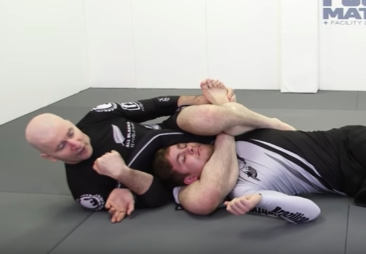 John Danaher Shows Effective Entries Into Rear Triangle Back Position