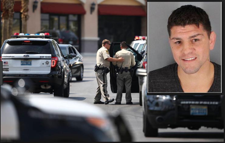 Body Cam Footage Reveals Police Lied About Nick Diaz Attacking Them