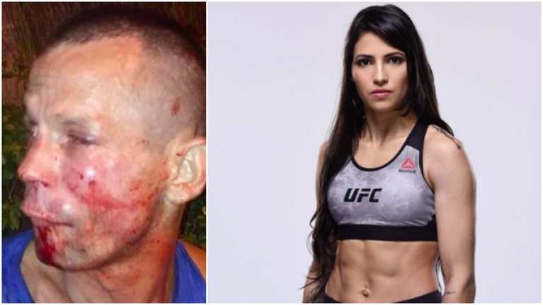 Man Attempts To Rob Brazilian UFC fighter Polyana Viana, Gets A Beating Instead