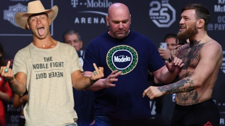 Dana White Wants Conor McGregor & Cowboy To Fight For Interim Lightweight Title