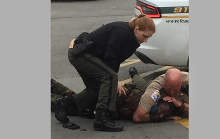 Florence Deputy Caught Using Illegal Chokehold