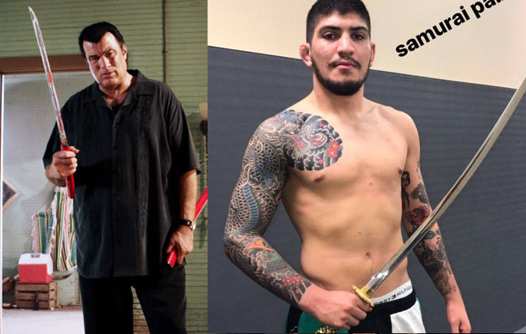 Dillon Danis Wants to Fight Steven Seagal At Bellator