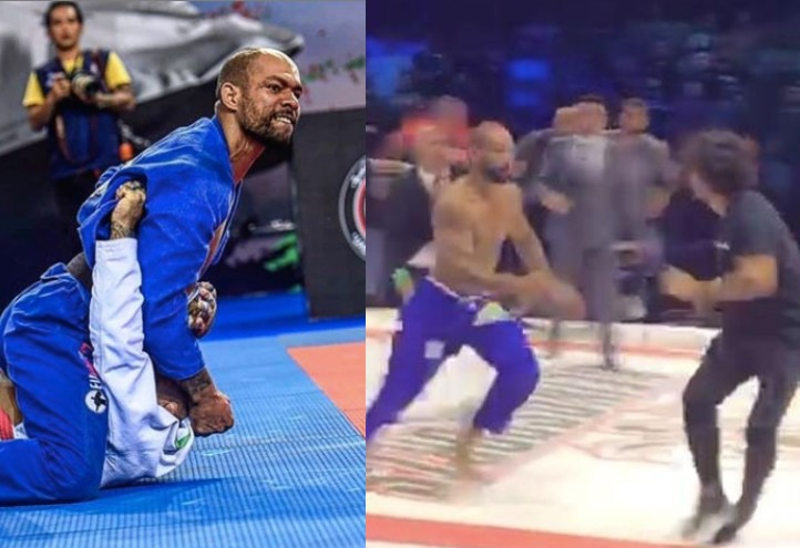 Erberth Santos Releases Statement Justifying His Actions at BJJ Stars