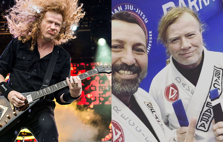 Dave Mustaine of Megadeth Trains BJJ & Is a Blue Belt