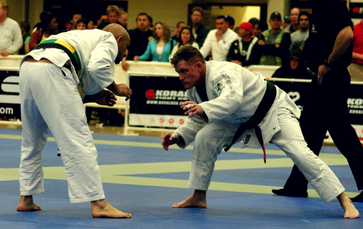 How to Throw a Crouching, Bent Over Opponent