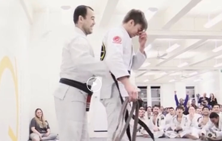 Throwback: Touching Video Marcelo Garcia Surprises Student with a Promotion