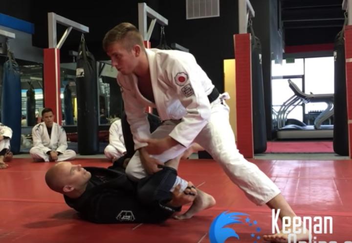 Keenan' Secret Grip That You Can Use To Pass Anyone's Guard
