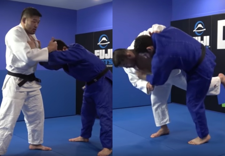 Send Your Stalling Opponent Flying with Hopping Uchi Mata by Satoshi Ishii