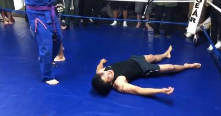 Kung Fu Master Challenges UFC Vet Nam Phan At His Gym