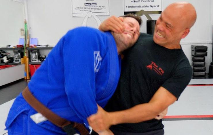 Master Wong Using Wing Chun To Defeat Brazilian Jiu-Jitsu