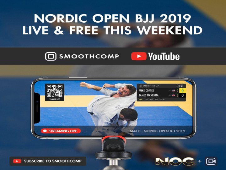 Watch The Nordic BJJ Open 2019 Live & For Free This Weekend