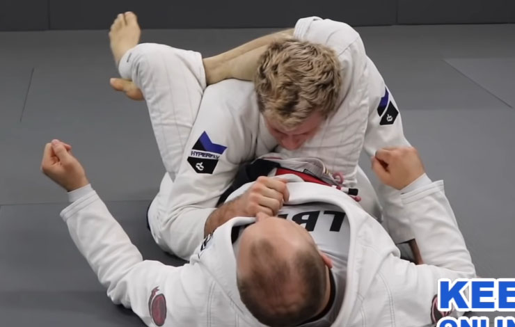Keenan Cornelius Shares Best Way to Escape a Jiujitsu Triangle – And Not Get Armbarred In Process