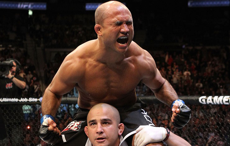 B.J. Penn Accused of Threatening Farmer with Machete; Police Investigation Ongoing