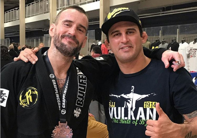 CM Punk Wins Bronze Competing as A Blue Belt in BJJ