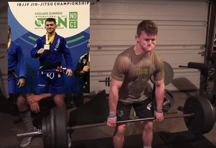 BJJ Champion's Powerlifting Garage Workout for Grappling