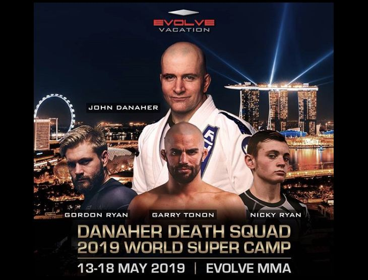Incredible Opportunity: Danaher Death Squad Camp at Evolve MMA