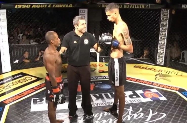 6'6'' Brazilian Featherweight Loses Debut to 5'4'' Opponent