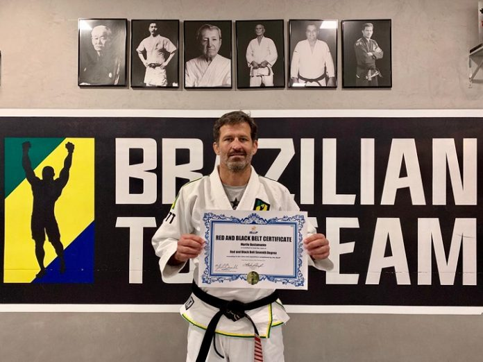 Former UFC Champion & BTT Founder Murilo Bustamante Awarded BJJ Coral Belt
