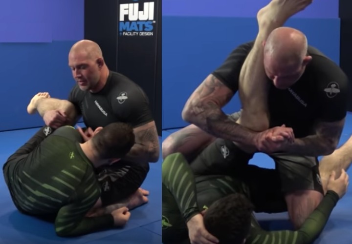 Stop The Bottom Half Guard Game With the Patella Lock