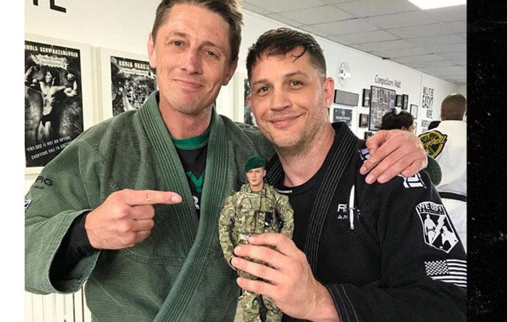 Tom Hardy Figurine Sold To Help Out REORG Jiu-Jitsu Foundation