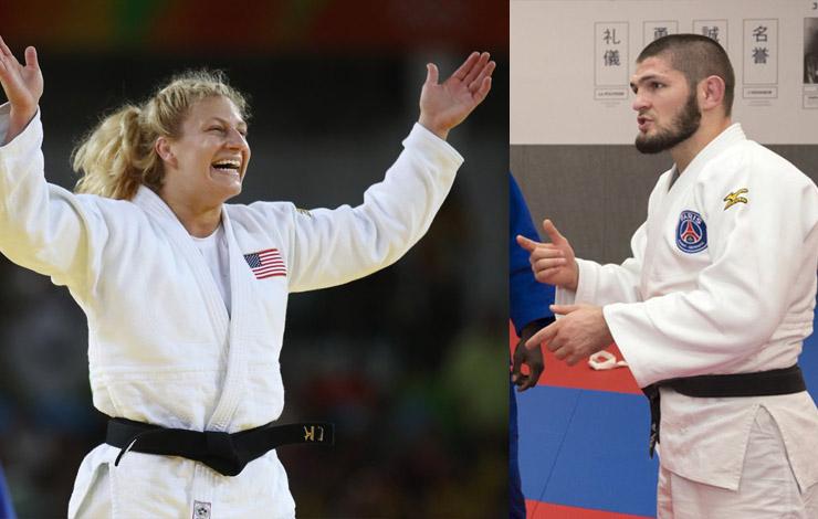 Kayla Harrison Is '100%' Sure She'd Beat Khabib in Judo match