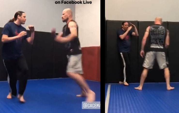 Aikido Practitioner Asks For Challenge At MMA Gym, Does Not Work Out For Him
