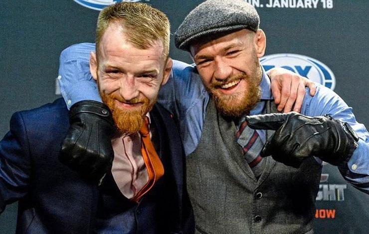 McGregor Questioned Over Assault