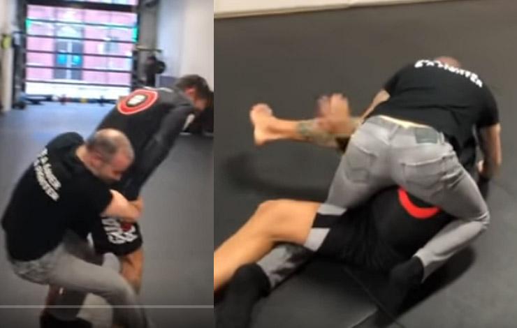 Self Defense Expert Shares Video of Himself Duelling Sport BJJ Practitioner