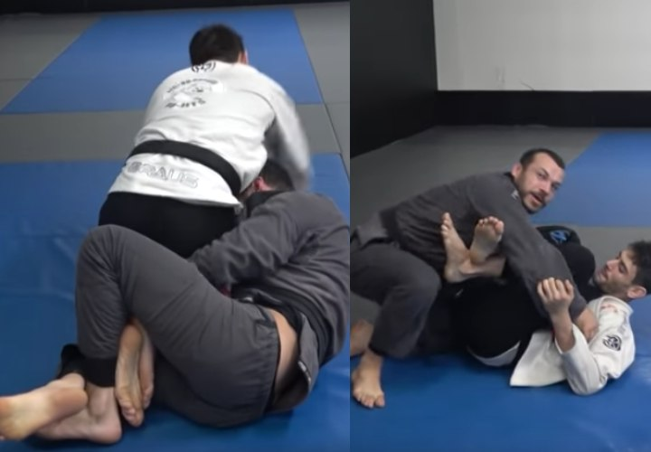 The Double Leg Trap Sweep Will Revolutionize Your Half Guard Game