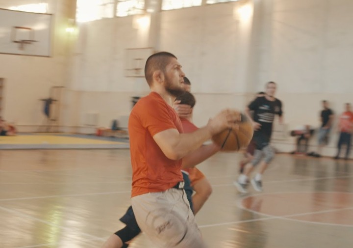 "Khabib Nurmagomedov & His Crew Play ""Dagestani"" Basketball"