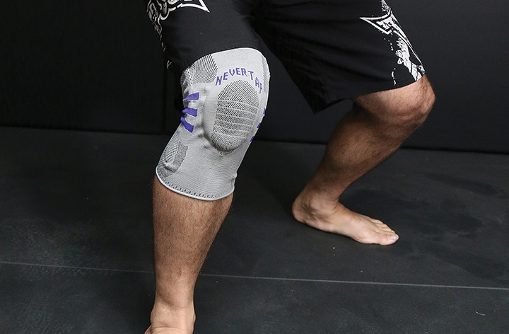 Knee Tape Trick For ACL Protection While Rolling in BJJ