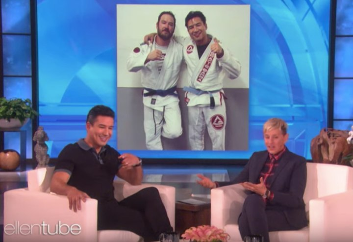 Mario Lopez Goes Deep On His Passion For BJJ On The Ellen Show