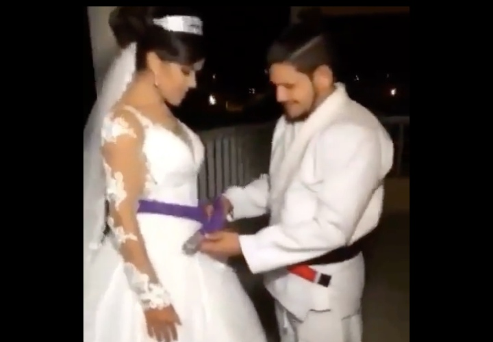 She Married Her BJJ Instructor & Got Promoted to Purple Belt