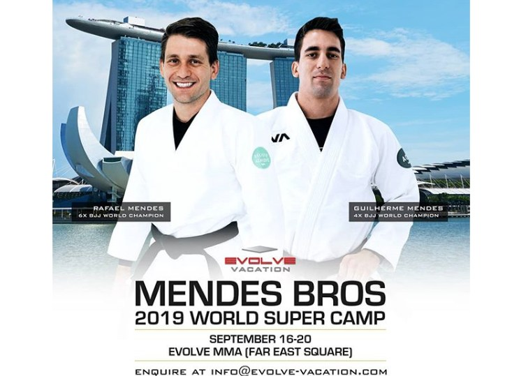 Incredible Opportunity: The Mendes Bros 2019 World Super Camp at Evolve MMA