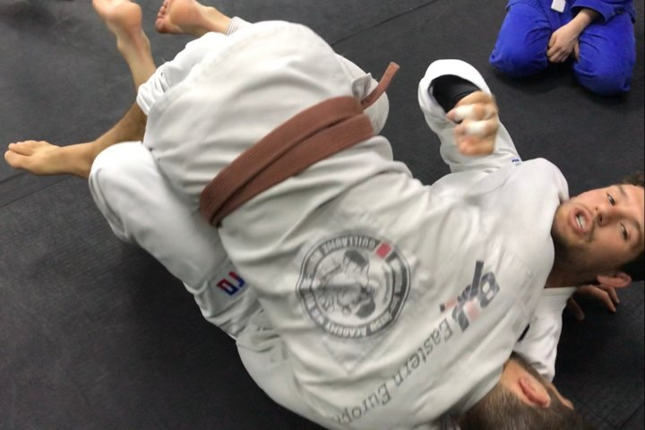 Sweep Much Bigger Opponents With This Effortless Sweep From Half Guard