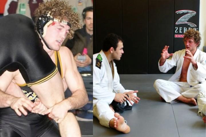 Ben Askren Compares Training in Wrestling & BJJ