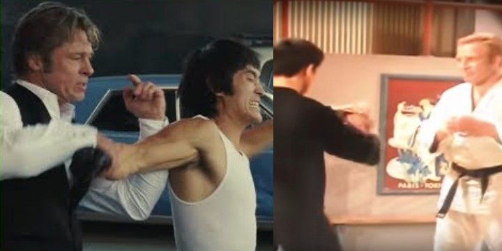 Bruce Lee Scene in Once Upon A Time in Hollywood Was Inspired By Gene LeBell Grappling Lee