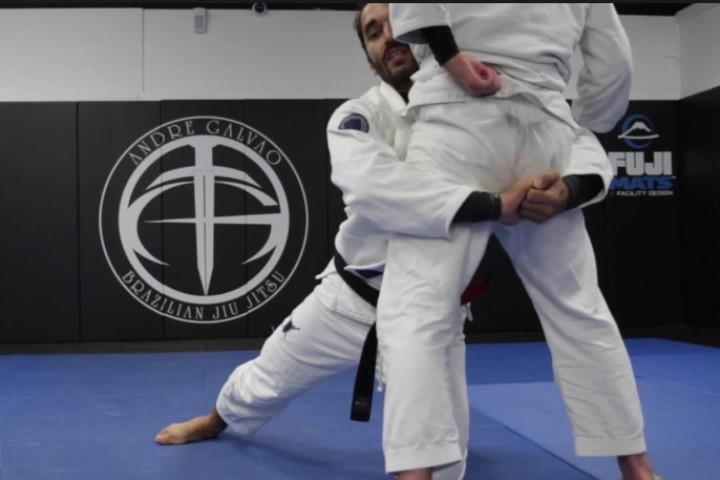 Double Leg Takedown, Should a BJJ Guy Drop his Knee?