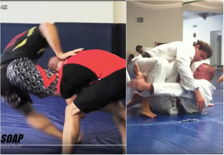 Roger Gracie Rolling with GSP No Gi & Gi