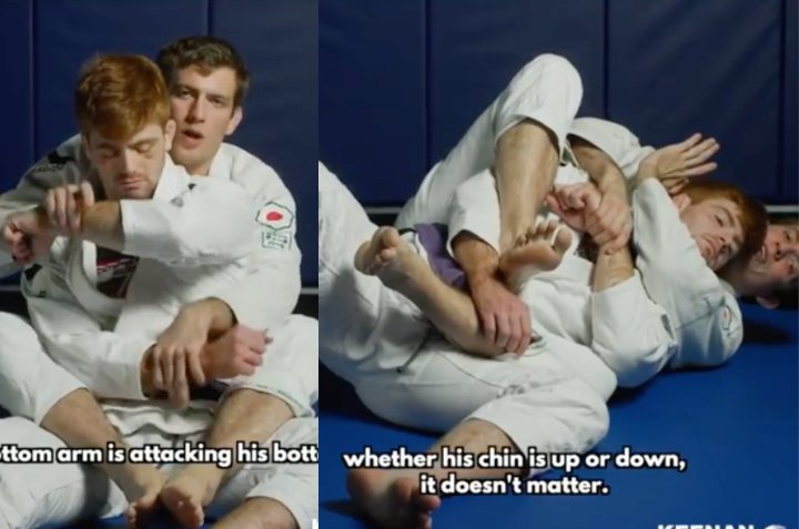 Keenan Cornelius Shows How To Adapt The Straightjacket Back System For The Gi